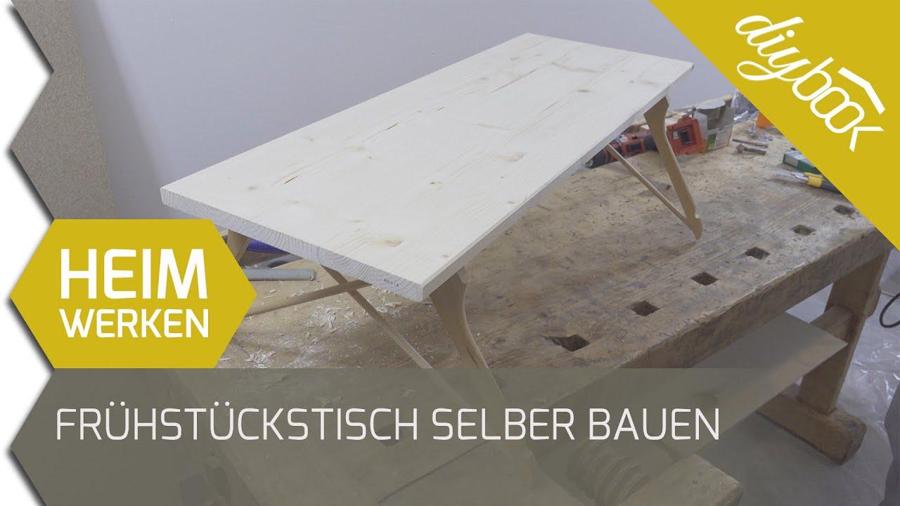 Holztisch: Abschleifen und ölen - YouTube