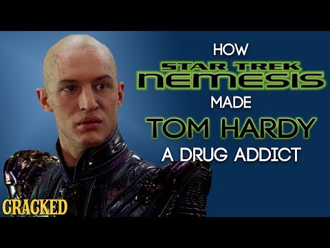 How Star Trek Nemesis Made Tom Hardy A Drug Addict
