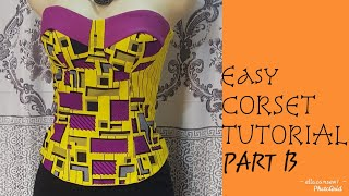 Sew a Corset/ Tube Top/ Bustie…