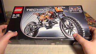 LEGO TECHNIC Кроссовый мотоцикл - 42007