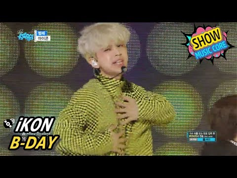 [Comeback Stage] iKON - B-DAY, 아이콘 - 벌떼 Show Music core 20170527