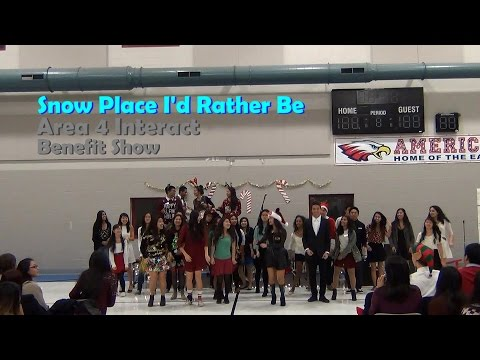 Area 4 Benefit Show: Snow Place I'd Rather Be - FCS Interact Club