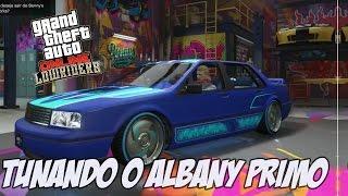 GTA V - Tunando o Albany Primo NOVO DLC LOWRIDERS