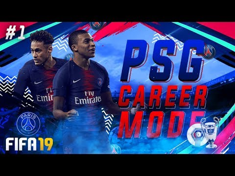 FIFA 19 PSG Career Mode EP1 - New Features & Gameplay!! Crazy £95,000,000 Signing!!