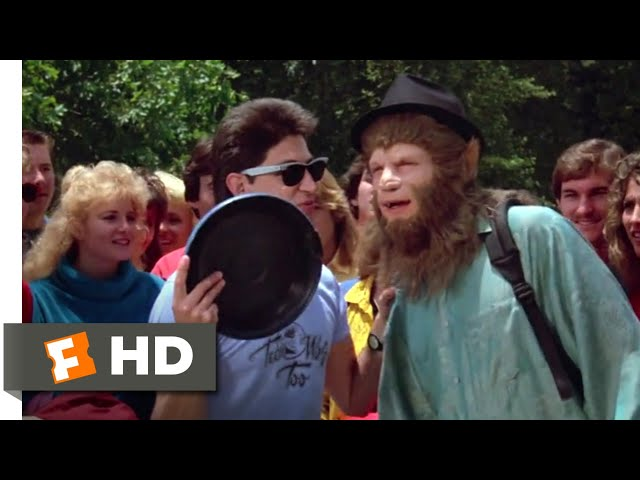 Teen Wolf Too (1987) - Todd Fetches a Frisbee Scene (7/12)   Movieclips