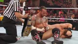 CM Punk vs. The Miz _ RAW 12.03.2012.русс,озв от 545TV