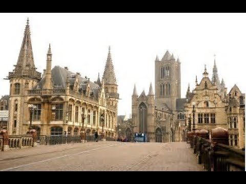 a walk around GHENT , BELGIUM