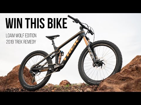 Win This Bike: Loam Wolf Edition Trek Remedy - YouTube