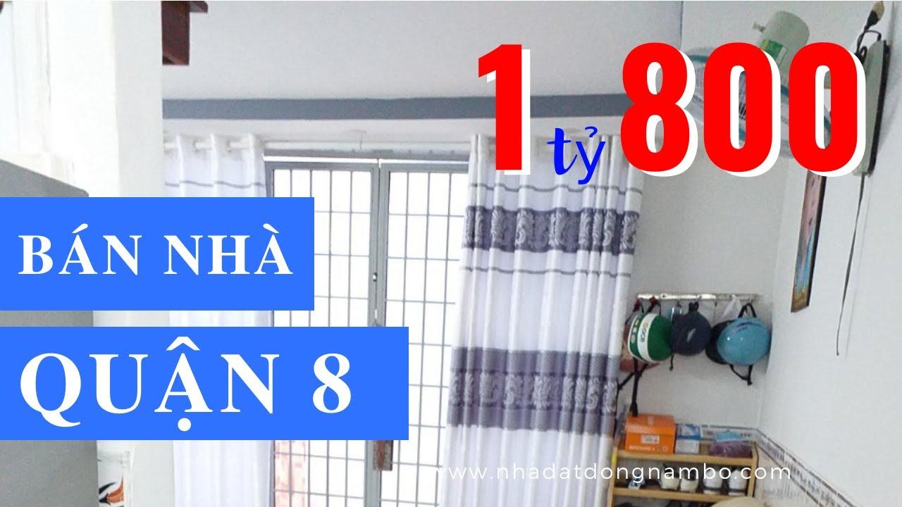 Bán Nhà Quận 8 Dưới 2 Tỷ Hẻm 2385 Phạm Thế Hiển, P.6, Q.8, Cuối Đường Tạ Quang Bửu