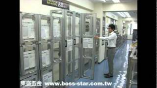 東盛五金 折五金門 www.boss-star.com.tw