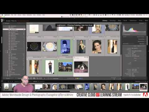 Introduction to Adobe Lightroom CC - Pt 1 - Importing Images   Education