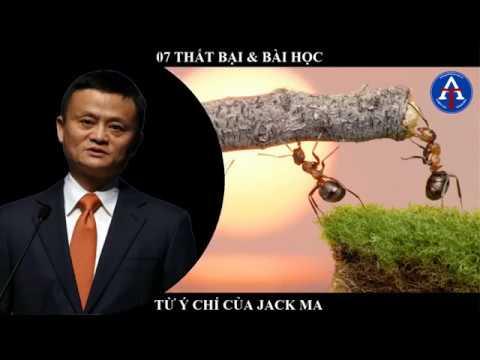 [BÀI HỌC CUỘC SỐNG] - 07 Thất Bài & Bài Học Từ Jack Ma