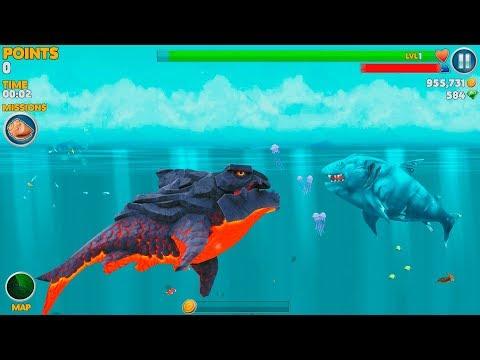 Hungry Shark Evolution Pyro Shark Android Gameplay #49