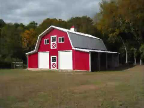 Metal Barn Roof Youtube