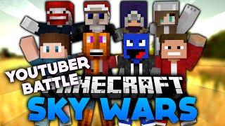 Es wird RASIERT im YOUTUBER BATTLE! - Minecraft SkyWars | DieBuddiesZocken