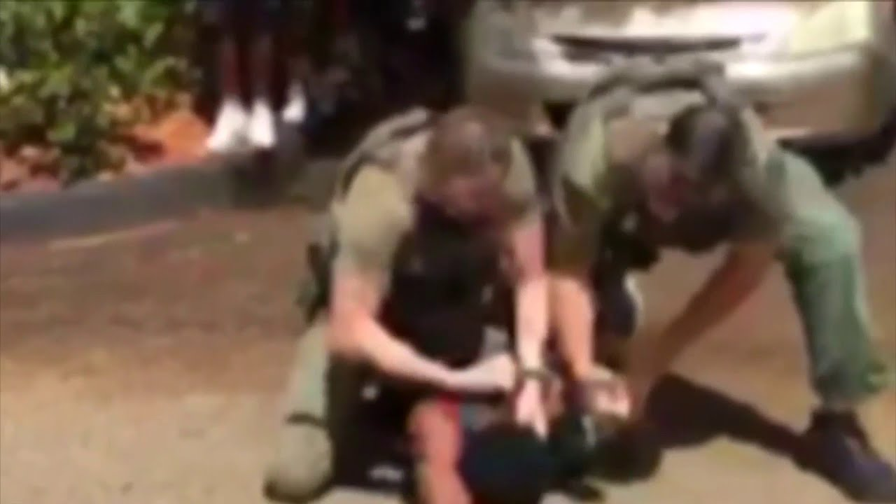 White On Black Crime: Will charges be dropped against 3 deputies assaulting teenager?