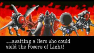 Shining Force - Opening (Resurrection of the Dark Dragon, GBA)
