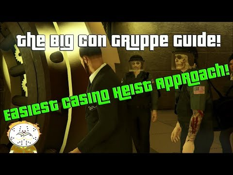 GTA Online The Easiest Casino Heist Approach, How To Complete The Big Con Gruppe Sechs Approach