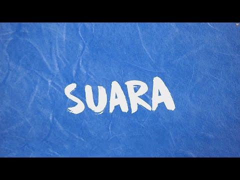 SUARA - Eka Gustiwana (feat. Prince Husein) | Lyric Video