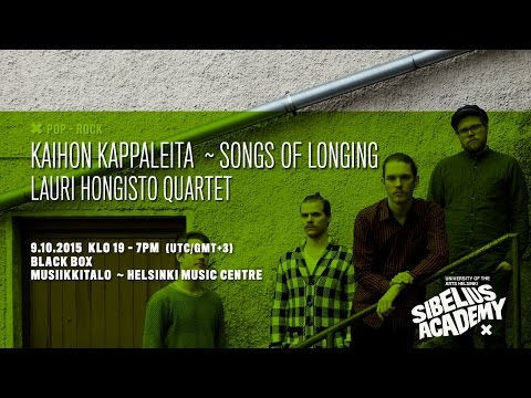 Lauri Hongisto Quartet by University of the ARTS HELSINKI - SIBELIUS ACADEMY