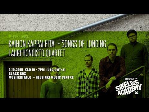 Lauri Hongisto Quartet By University Of The ARTS HELSINKI - SIBELIUS ACADEMY