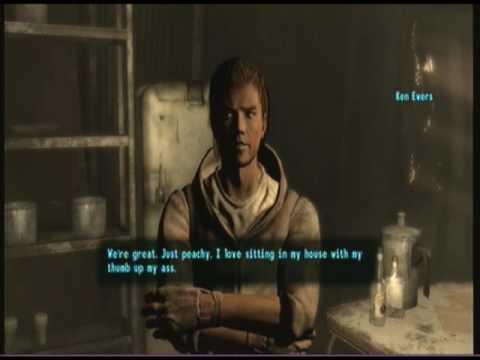 fallout 3 walkthrough blood ties intro and arefu