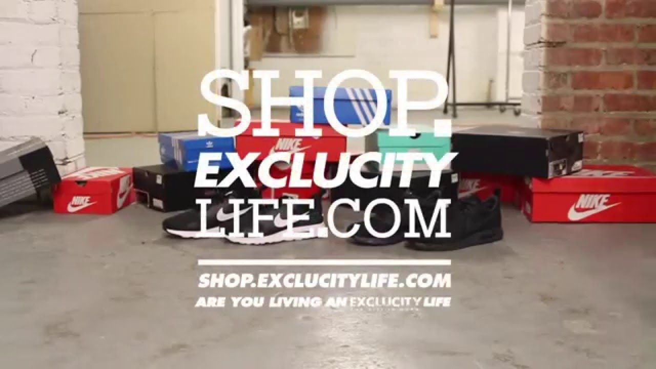 13a6e28fb09f Nike Air Max Tavas Red - White On-feet Video at Exclucity - YouTube