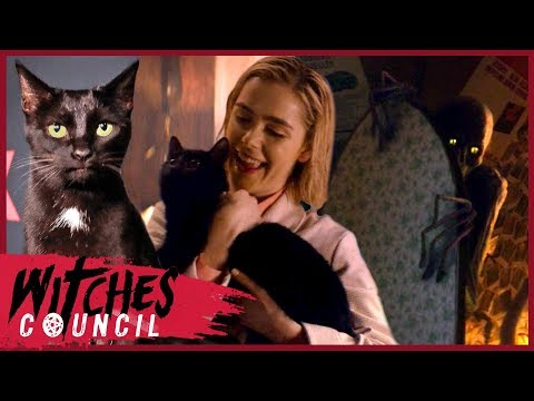Kiernan Shipka Reveals Why Salem Doesn't Talk on Chilling Adventures of Sabrina | Witches Council