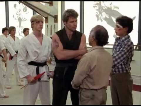 'The Karate Kid' Mr. Miyagi Confronts Sensei In Dojo