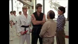 """The Karate Kid"" Mr. Miyagi Confronts Sensei In Dojo"