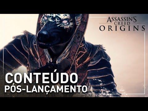 Assassin's Creed Origins: Trailer de Pós Lançamento