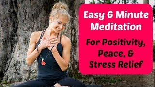 6 Minute Guided Deep Breathing Meditation. Calm Your Mind In Minutes. Video