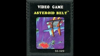ASTEROID BELT - ATARI 2600