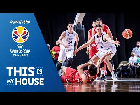 Estonia v Serbia - Highlights - FIBA Basketball World Cup 2019 - European Qualifiers