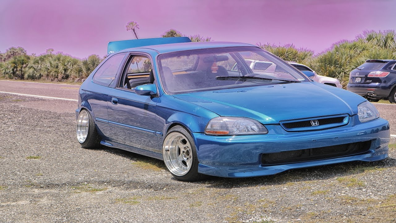 Amazing 1997 Honda Civic Hatchback EK Hatch