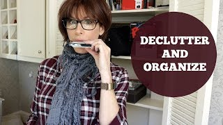 Decluttering & Organizing My Home Office