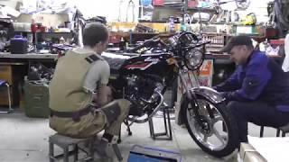 Сборка мотоцикла HUNTER 200