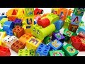 Building Blocks Toys for Children The Alphabet Toy Train Learning Alphabet