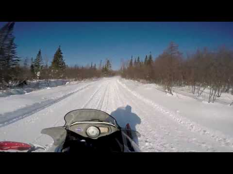 Gay Michigan Sand Dunes To Calumet Full Ride | Michigan UP Snowmobile Trails