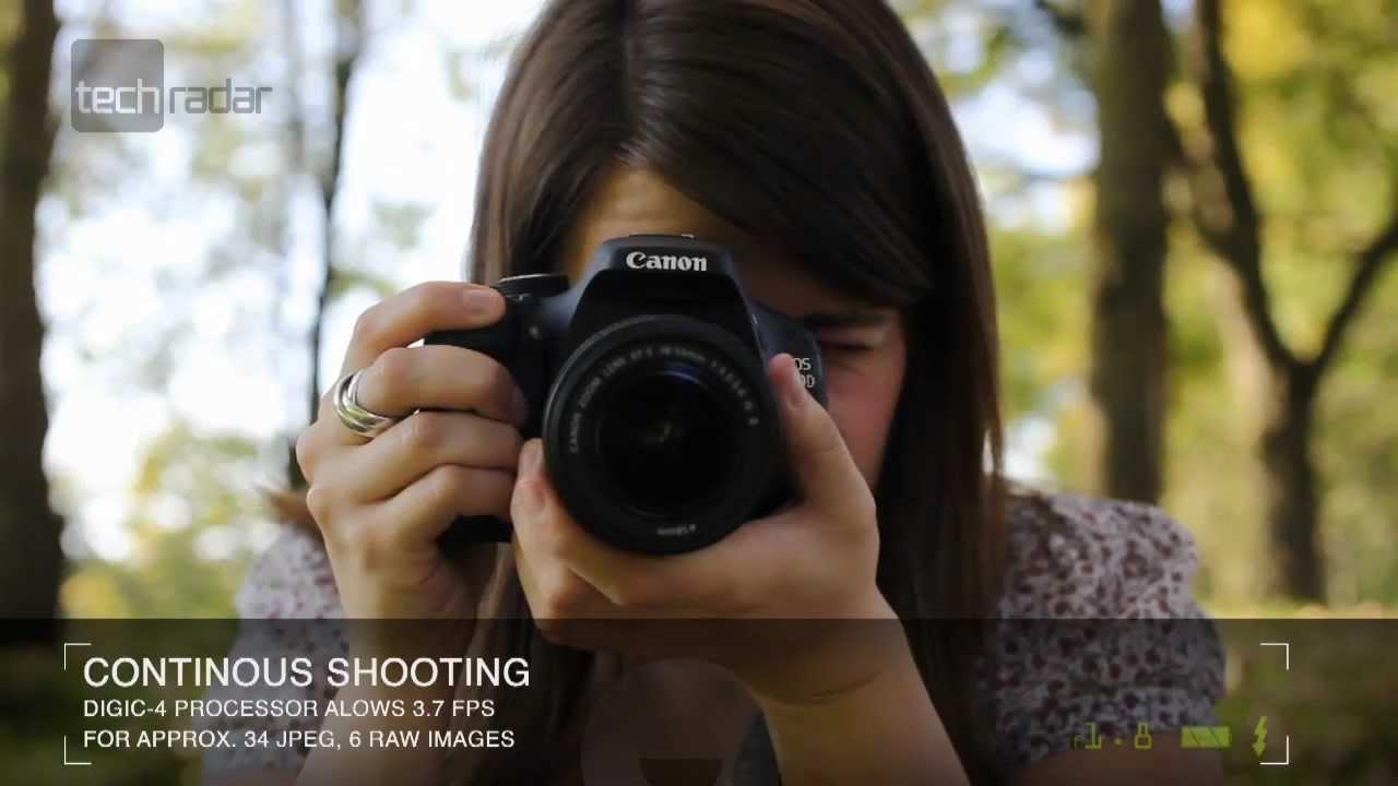 Canon EOS 600D DSLR Camera Review - YouTube