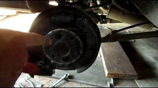 видео Тормозные механизмы задних колес ВАЗ 2107