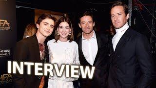 Nicole Kidman, Hugh Jackman, Timothée Chalamet, Harry Shum Jr. & More! | Hollywood Film Awards 2018
