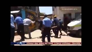VIOLENCE DES POLICES COMMUNALES SUR UN TIREUR DE CHARETTE A ANTANANARIVO
