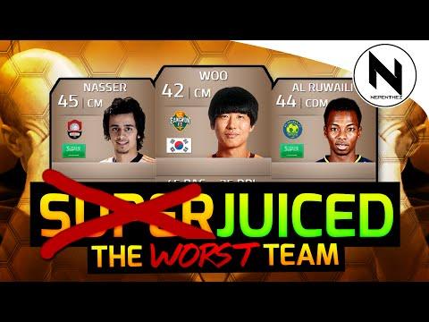 The WORST Bronze Team - SUPER JUICED!! - FIFA 14