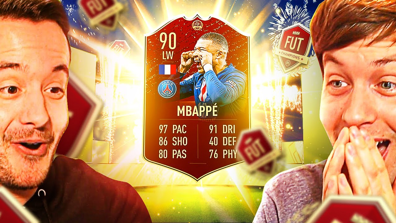 OMG RED MBAPPE FUT CHAMPS REWARDS PRANK! - FIFA 20 ULTIMATE TEAM PACK OPENING