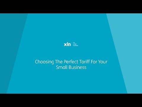 Choosing The Perfect Tariff For Your Small Business