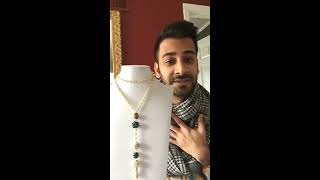 Wake 'n Make with Nealay Patel - Interchangeable Necklace Tutorial