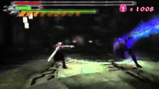 Devil May Cry(PS2) - Legendary Dark Knight Sparda VS Corrupted Vergil(AKA Nelo Angelo) [720p]