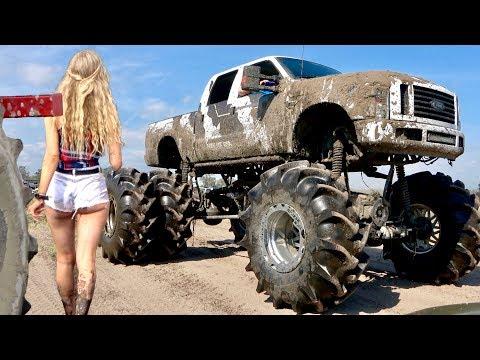 Custom Made Mud Trucks - Okeechobee Mudboggin