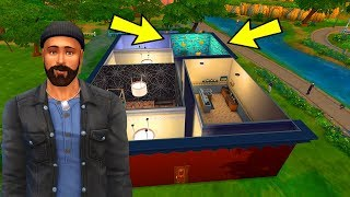 MESUT'A ULTRA LÜKS GECEKONDU YAPIYORUZ! - The Sims 4 Mesut'un Hayatı
